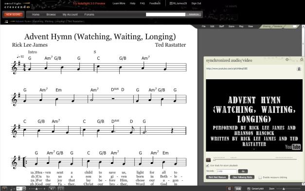 Advent Hymn Lead