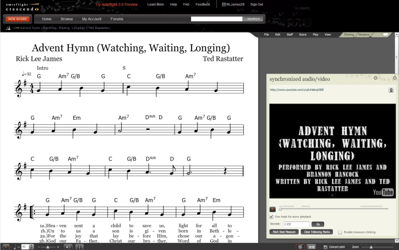 Advent Hymn Lead