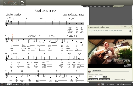 And Can It Be Lead Sheet Pic