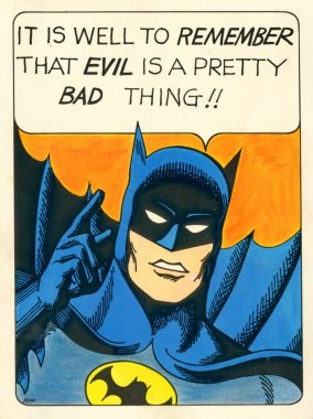 Batman on Evil