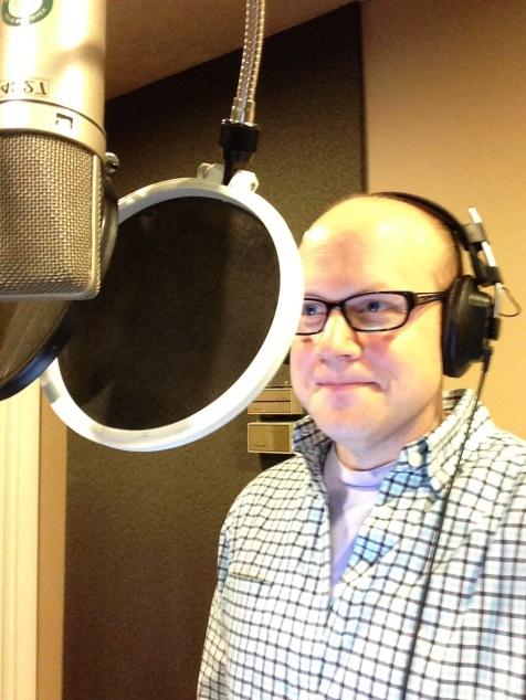 Rick Recording Vocals