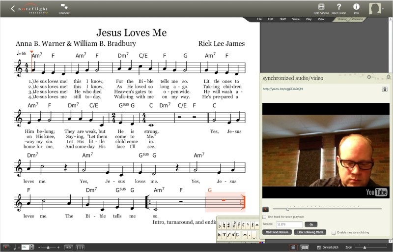 Jesus Loves Me Sheet Music Screenshot