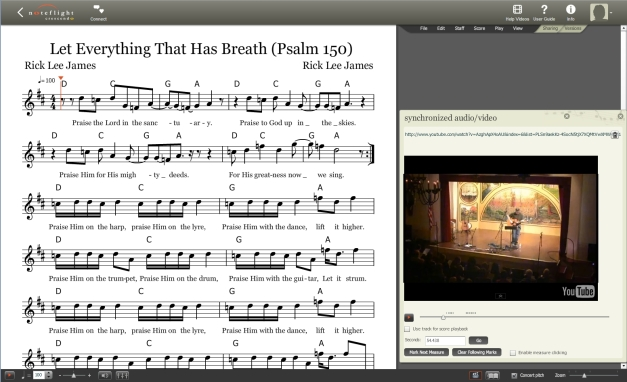 Let Everything that Has Breath Screenshot Music