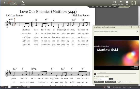 Love Our Enemies Music Screen Shot