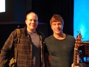 Rick with Paul Baloche