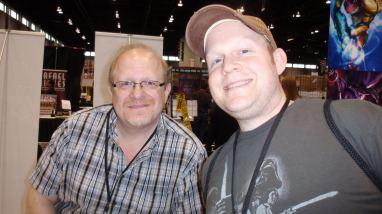 Rick with Mark Waid