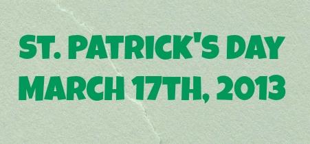 St Patrick 2013