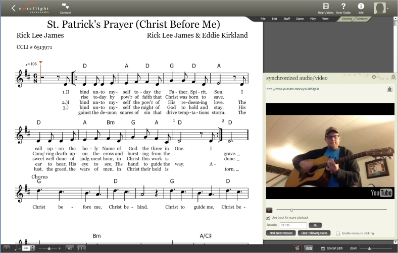 St. Patrick's Prayer Cover