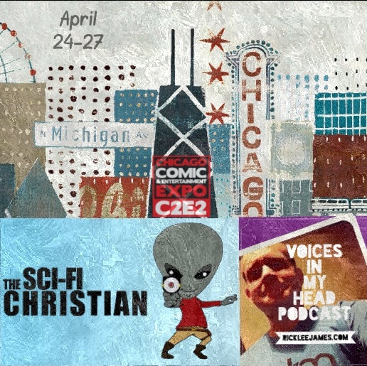 Rick Lee James & Ben DeBono blow into the Windy City  for a C2E2 Podcast Crossover