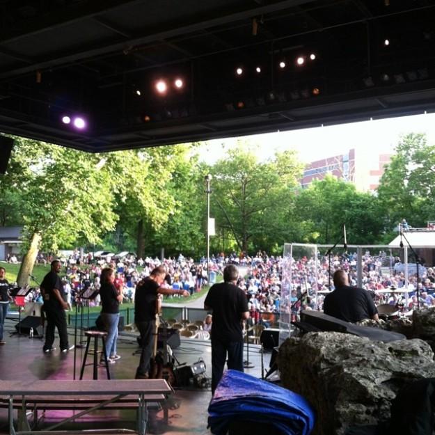 Veteran's Park Backstage