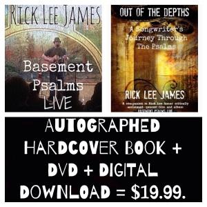 Autographed hardcover book + DVD + Digital album sale