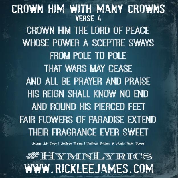 CrownHimWithManyCrowns Verse 4