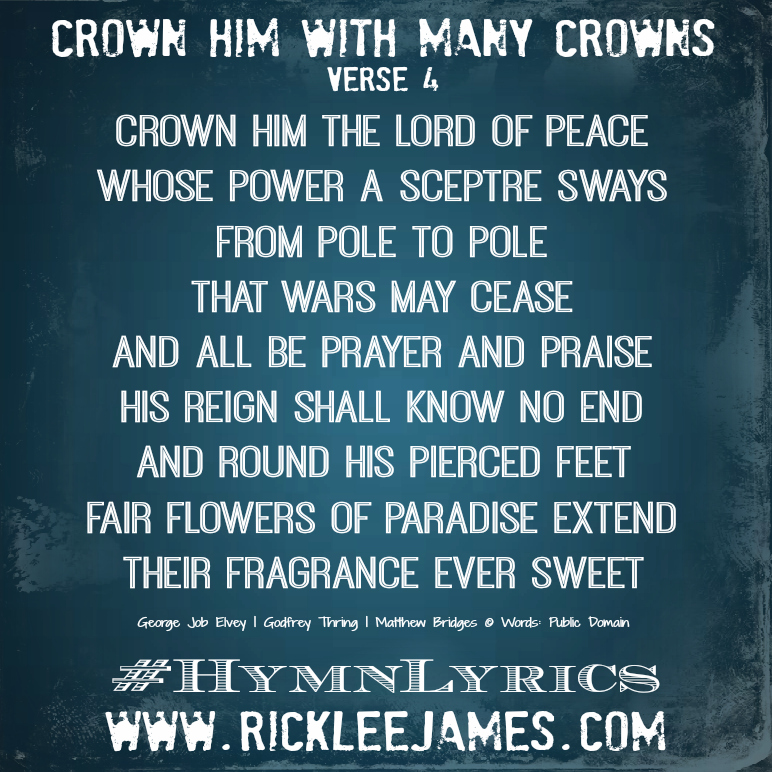 CrownHimWithManyCrowns Verse 4