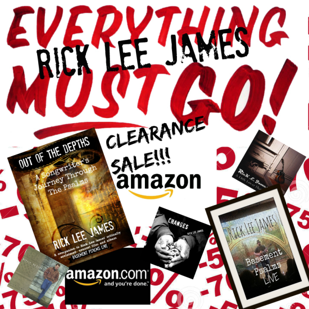 Rick Lee James Clearance_Amazon