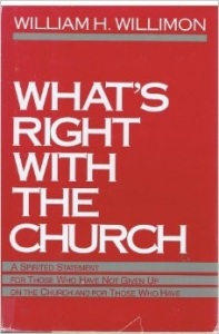 Here is a link where you can buy Bishop Willimon's book,